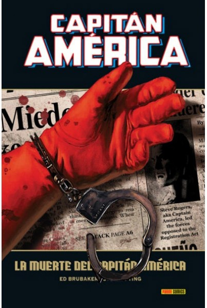 CAPITAN AMERICA 05: LA MUERTE DEL CAPITAN AMERICA