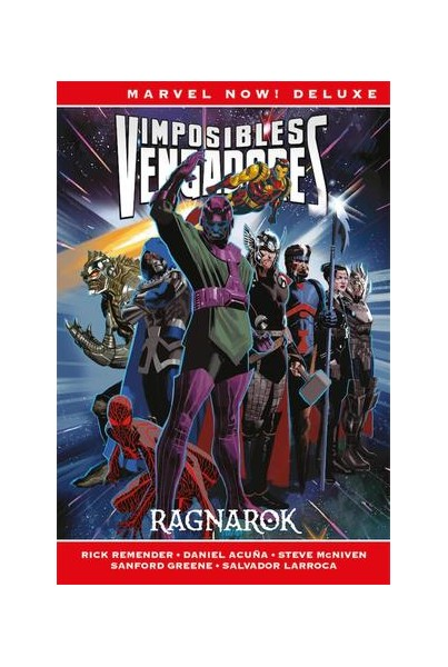 IMPOSIBLES VENGADORES #02: RAGNAROK