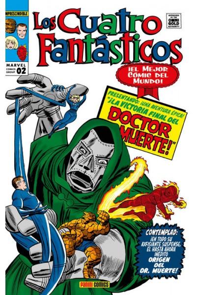 LOS CUATRO FANTÁSTICOS #02: LA BATALLA POR EL EDIFICIO BAXTER