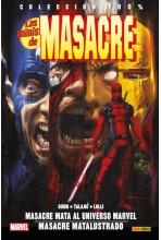 LAS MINIS DE MASACRE #02: MASACRE MATA AL UNIVERSO MARVEL / MASACRE MATALUSTRADO