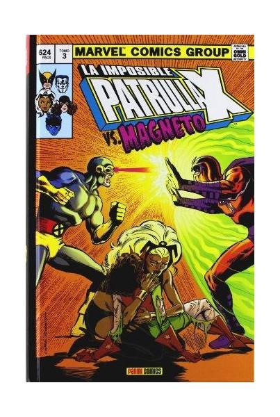 LA IMPOSIBLE PATRULLA-X #03: VS. MAGNETO