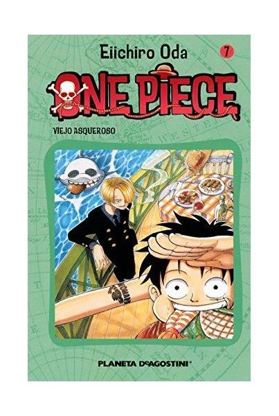 ONE PIECE #07: VIEJO ASQUEROSO