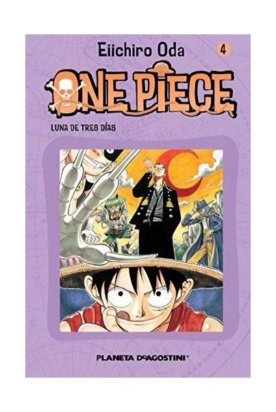 ONE PIECE #04: LUNA DE TRES DÍAS