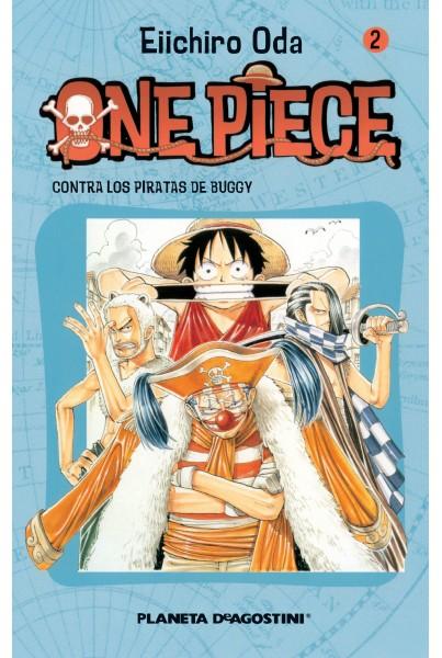 ONE PIECE #02: CONTRA LOS PIRATAS DE BUGGY