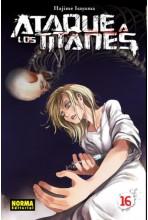 ATAQUE A LOS TITANES #16