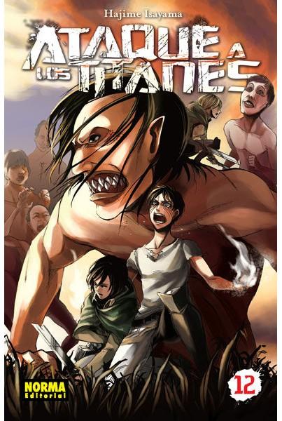 ATAQUE A LOS TITANES #12