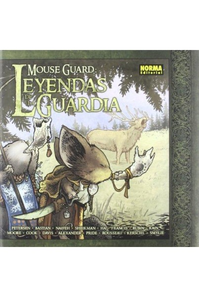 MOUSE GUARD - LEYENDAS DE LA GUARDIA