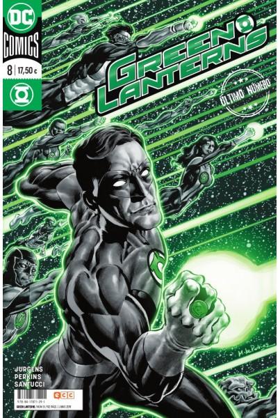 GREEN LANTERNS #08