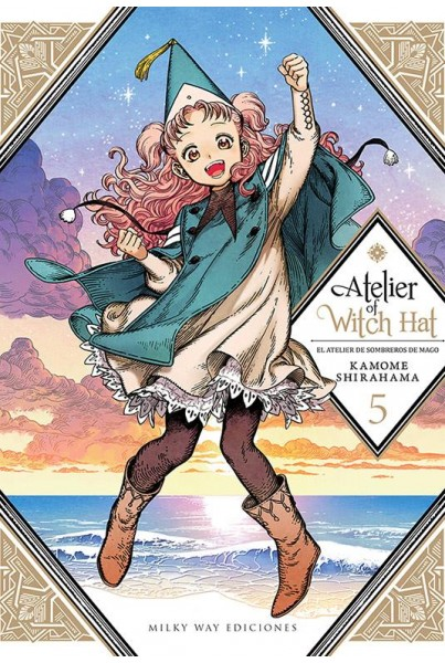 ATELIER OF WITCH HAT #05