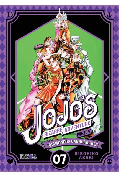 JOJO'S BIZARRE ADVENTURE PARTE 4: DIAMOND IS UNBRE