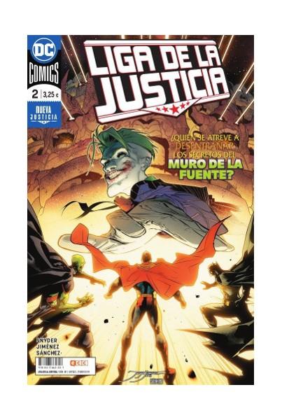 LIGA DE LA JUSTICIA 80/02