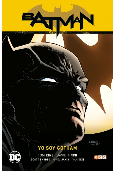 BATMAN DE TOM KING #01: YO SOY GOTHAM (RENACIMIENTO PARTE 01)
