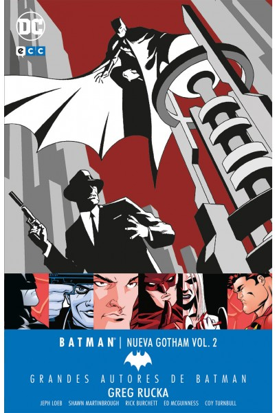 GRANDES AUTORES DE BATMAN: GREG RUCKA - BATMAN: NUEVA GOTHAM #02