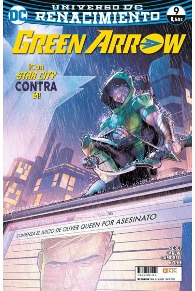 GREEN ARROW VOL.2 #09 (RENACIMIENTO)