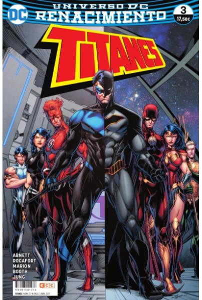 TITANES #03 (RENACIMIENTO)