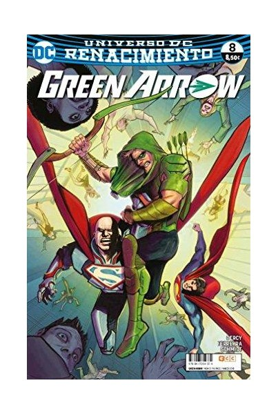 GREEN ARROW VOL.2 #08 (RENACIMIENTO)