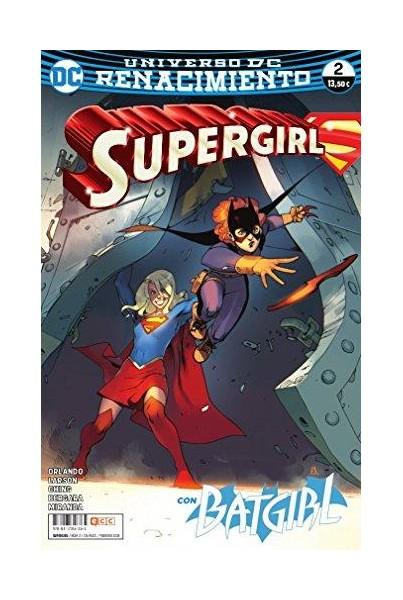 SUPERGIRL #02 (RENACIMIENTO)