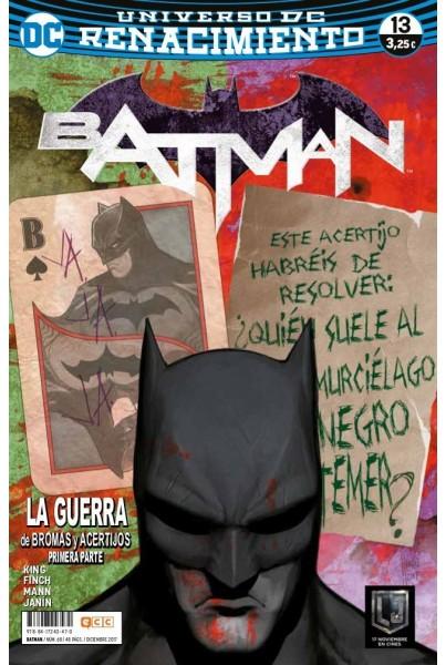 BATMAN 68/13 (RENACIMIENTO)