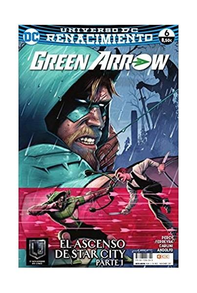 GREEN ARROW VOL.2 #06 (RENACIMIENTO)
