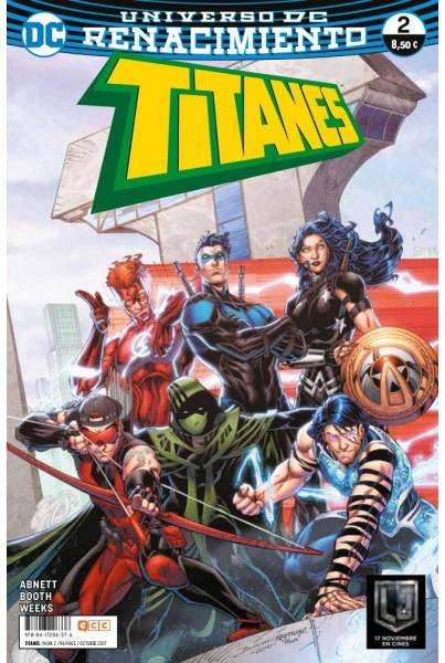 TITANES #02 (RENACIMIENTO)
