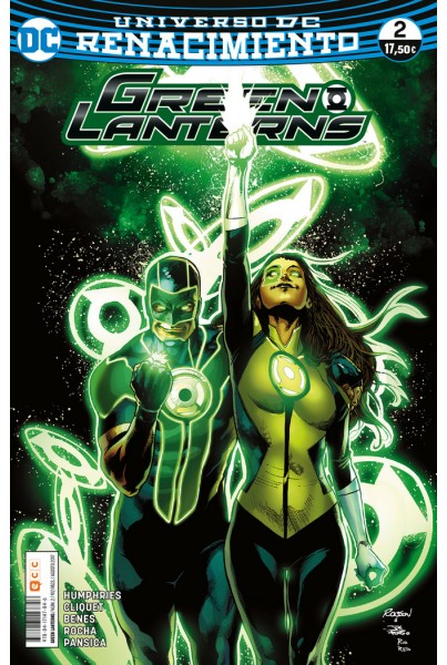 GREEN LANTERNS #02 (RENACIMIENTO)