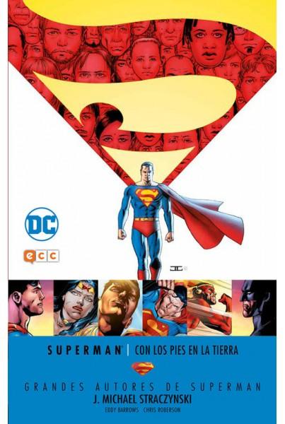 GRANDES AUTORES DE SUPERMAN: J. MICHAEL STRACZYNSKI - CON LOS PIES EN LA TIERRA