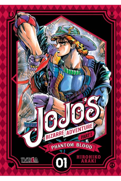 JOJO'S BIZARRE ADVENTURE PARTE 1: PHANTOM BLOOD 01