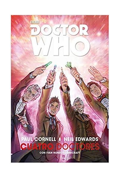 DOCTOR WHO. CUATRO DOCTORES