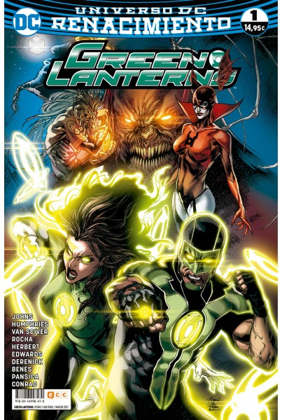 GREEN LANTERNS #01 (RENACIMIENTO)