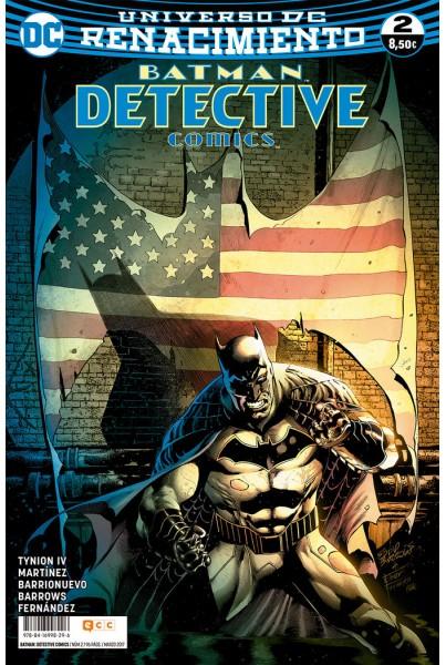BATMAN: DETECTIVE COMICS #02 (RENACIMIENTO)