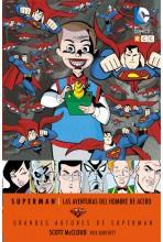 GRANDES AUTORES DE SUPERMAN: SCOTT MCLOUD - LAS AVENTURAS DEL HOMBRE DE ACERO