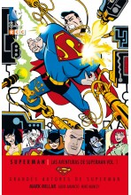 GRANDES AUTORES DE SUPERMAN: MARK MILLAR - LAS AVENTURAS DE SUPERMAN #01