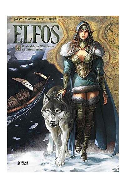 ELFOS 04. EL CRISTAL DE LOS ELFOS SILVANOS / LA UL