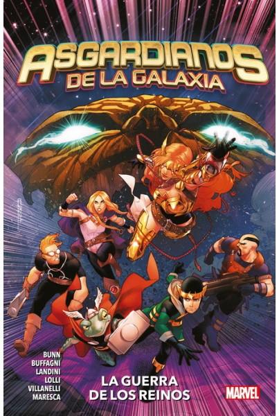 ASGARDIANOS DE LA GALAXIA 02: LA GUERRA DE LOS REINOS