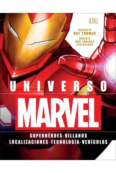 UNIVERSO MARVEL: SUPERHÉROES, VILLANOS, LOCALIZACIONES, TECNOLOGÍA, VEHÍCULOS