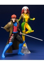 MARVEL UNIVERSE PACK DE 2 ESTATUAS 1/10 ARTFX+ GAMBIT & ROGUE (X-MEN '92) 19 CM