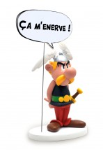 ASTERIX ESTATUA COLLECTOYS COMICS SPEECH ASTERIX 15 CM *EDICIÓN FRANCESA*
