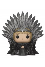 JUEGO DE TRONOS POP! DELUXE VINYL FIGURA CERSEI LANNISTER ON IRON THRONE 15 CM