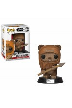 STAR WARS FIGURA POP! MOVIES VINYL WICKET 9 CM
