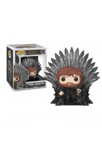 JUEGO DE TRONOS POP! DELUXE VINYL FIGURA TYRION SITTING ON IRON THRONE 15 CM
