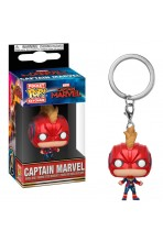 CAPTAIN MARVEL LLAVERO POCKET POP! VINYL CAPTAIN MARVEL (WITH HELMET) 4 CM