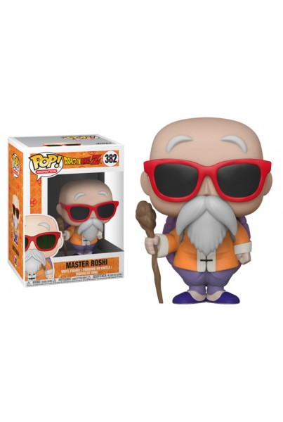 DRAGON BALL Z FIGURA POP! ANIMATION VINYL MASTER ROSHI 9 CM