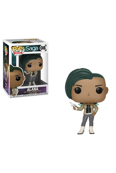 SAGA FIGURA POP! COMICS VINYL ALANA WITH GUN 9 CM