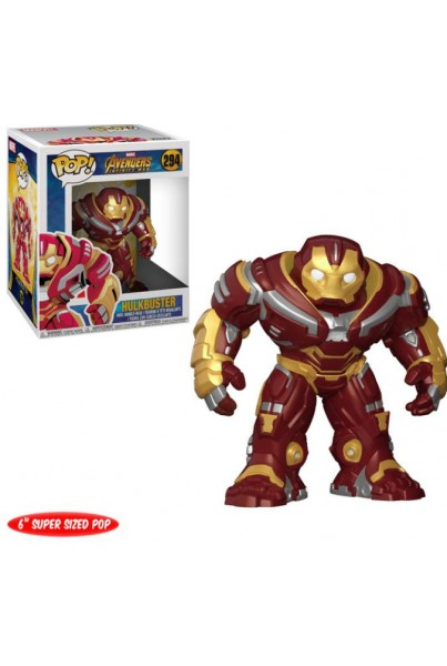 AVENGERS INFINITY WAR FIGURA SUPER SIZED POP! MOVIES VINYL HULKBUSTER 15 CM