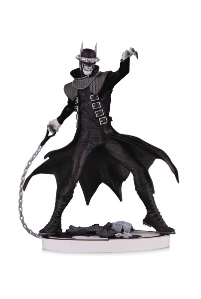 BATMAN BLACK & WHITE ESTATUA THE BATMAN WHO LAUGHS 2ND EDITION 19 CM