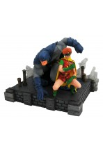THE DARK KNIGHT RETURNS DC COMIC GALLERY ESTATUA PVC BATMAN & ROBIN 20 CM