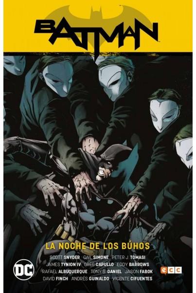 BATMAN: LA NOCHE DE LOS BÚHOS (NUEVO UNIVERSO PARTE 02)