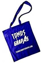 BOLSA DE TELA TOMOS Y GRAPAS