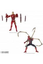 SET IRON SPIDER + IRON MAN...
