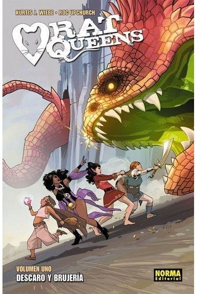RAT QUEENS 01: DESCARO Y BRUJERÍA